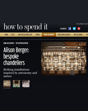 Financial Times' How to Spend It, July 2014