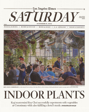 Los Angeles Times' Home & Garden, October 2014