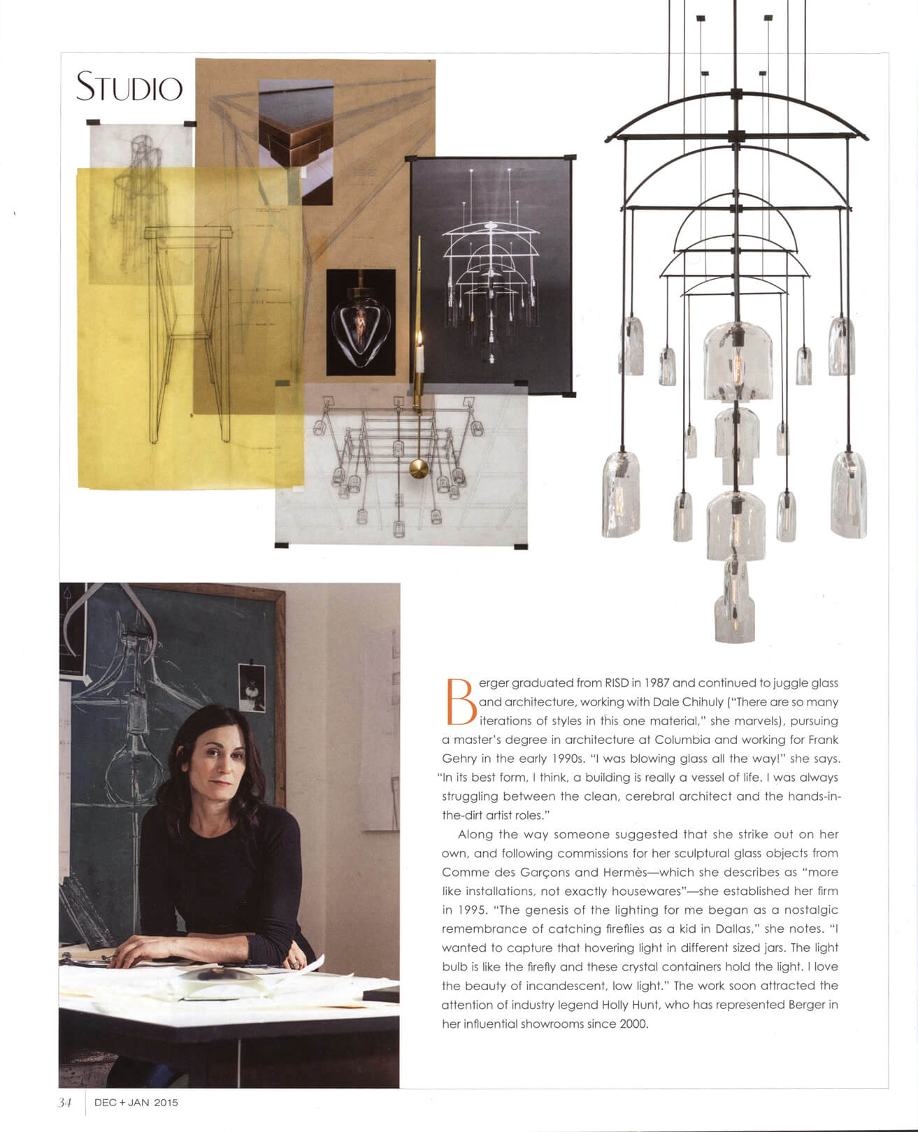 Interiors Magazine, Dec 2014/Jan 2015