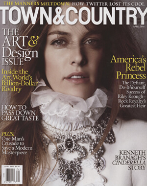 Town & Country, April 2015