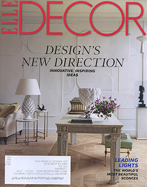 Elle Decor, September 2016
